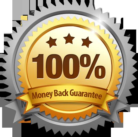 laid guaranteed money back