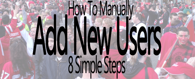 How To Manually Add A New User To Your WordPress Website In 8 Simple Steps - Feature and Banner