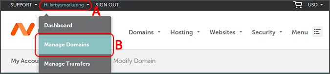 how to change namecheap dns